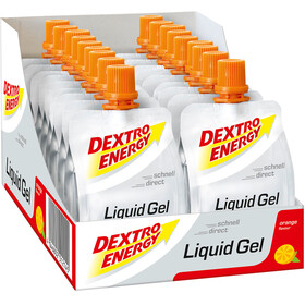 Dextro Energy Liquid Gel Alimentazione sportiva Orange 18 x 60ml